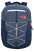 The North Face Borealis Backpack Women cosmic blue heather/calypso coral